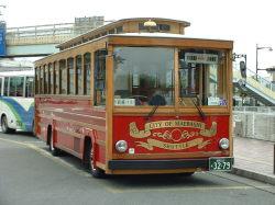 前橋市を走る日本中央バス